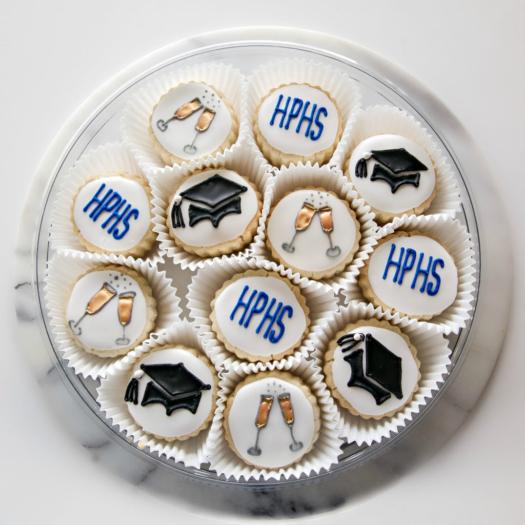 Graduation Tin - Gourmet Cookies, Custom Shortbreads & Holiday Gifts | Dallas, TX