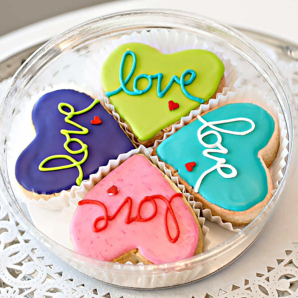 Heart Valentine's Day Tin - Gourmet Cookies, Custom Shortbreads & Holiday Gifts | Dallas, TX