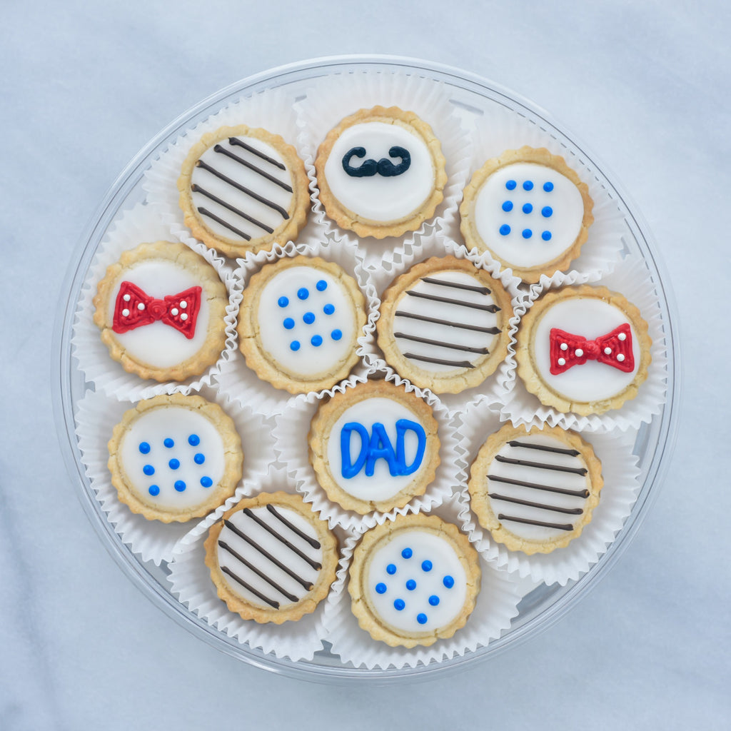 Father's Day Tin - Gourmet Cookies, Custom Shortbreads & Holiday Gifts | Dallas, TX