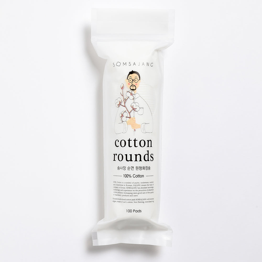 Cotton Rounds 100ea