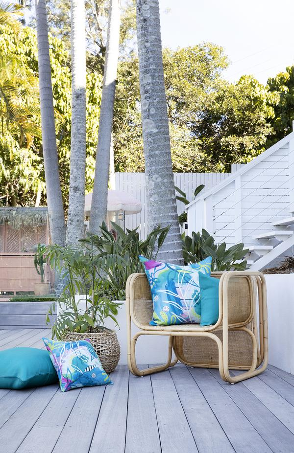 ARIA OUTDOOR CUSHION COVER 42X42CM