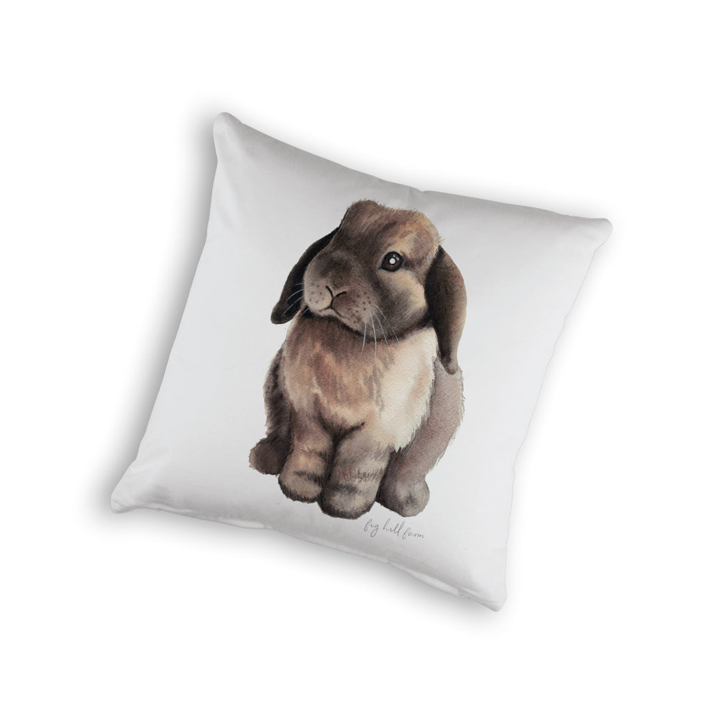FIG HILL BUNNY CUSHION COVER -ORGANIC COTTON