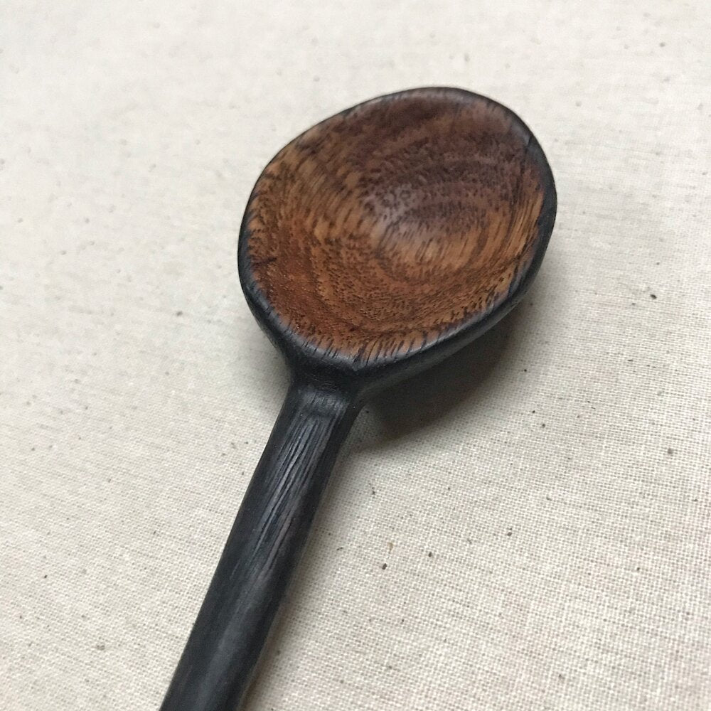 CHARRED ROUND EATING SPOON