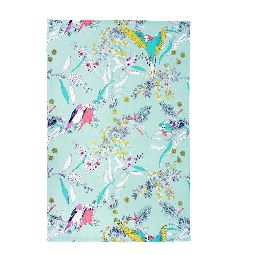 Dawn Chorus Tea Towel