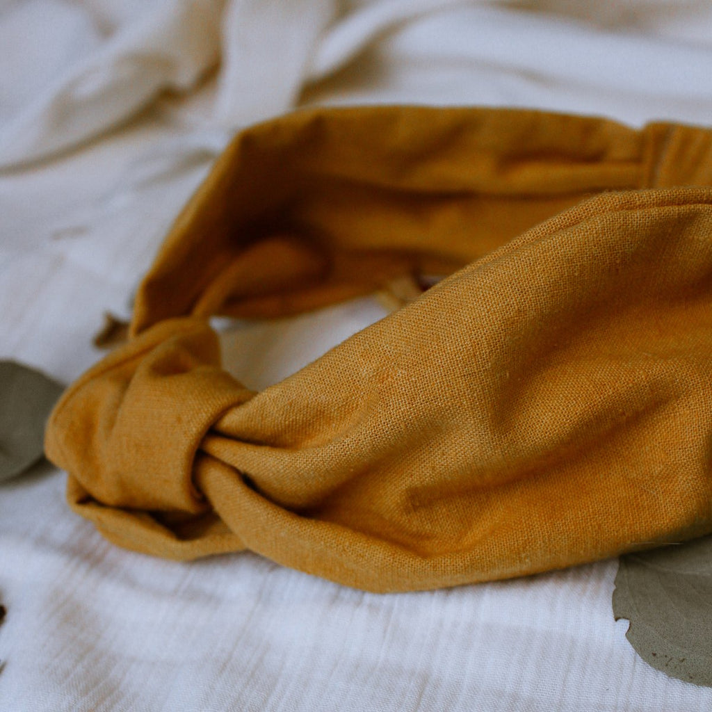 HEMP HEADBAND - MARIGOLD