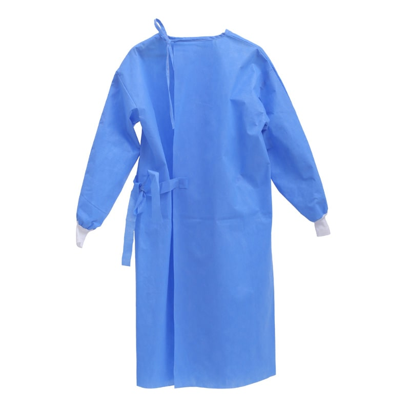Isolation Gowns Blue, Level-3 60GSM - FDA Certified