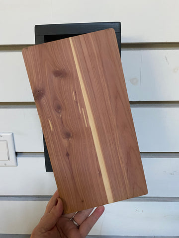 DIY Natural Cedar Wood Interchangeable SanSlide