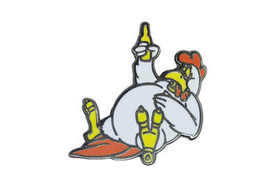 Jillionaire - Chicken and Beer Pin