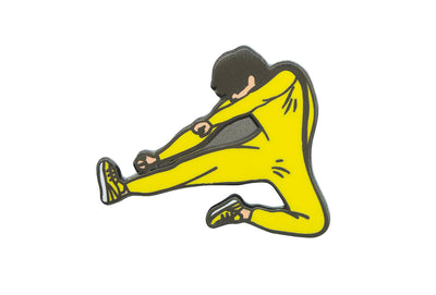 Yellow Jumpsuit Pin