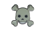 Skull and Crossbones Pin