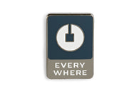 Everywhere Pin