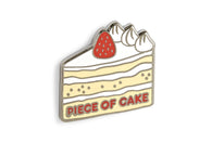 Piece Of Cake Pin