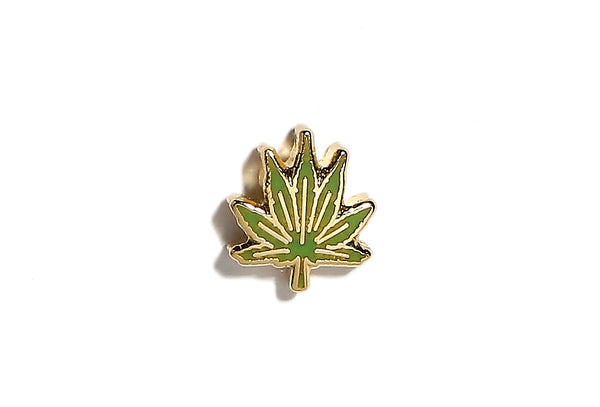 Mini Weed Leaf Pin