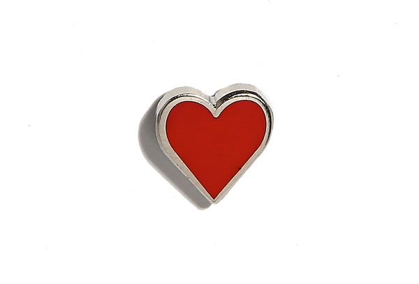 Mini Heart Pin - Red