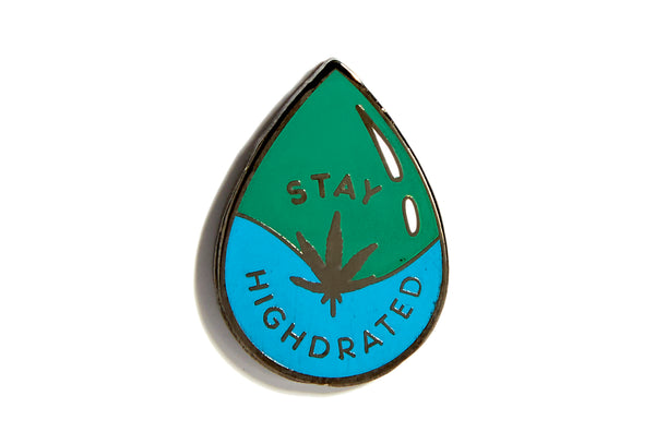 Stay Highdrated Pin