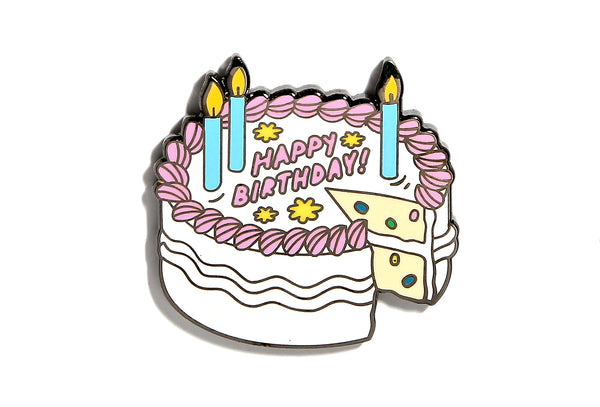 Birthday Cake Pin