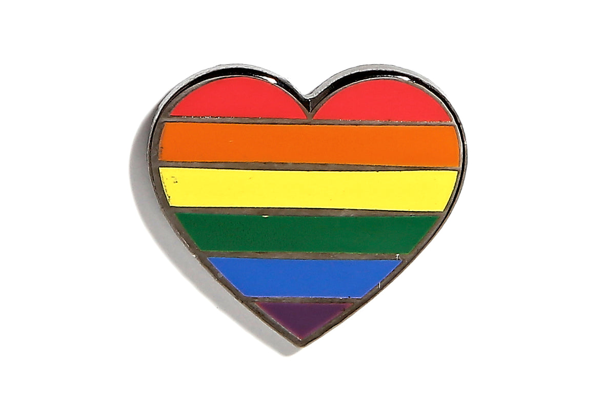 Pride Heart Pin