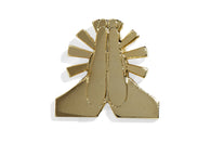 Pray Hands Pin - Gold
