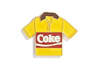Vintage Coke Pin - Yellow