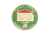 Vintage Zuhrah Temple Pin