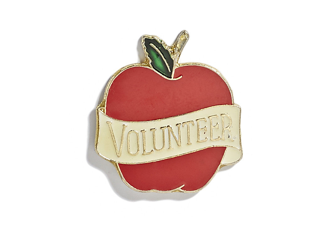 Vintage Volunteer Pin 2