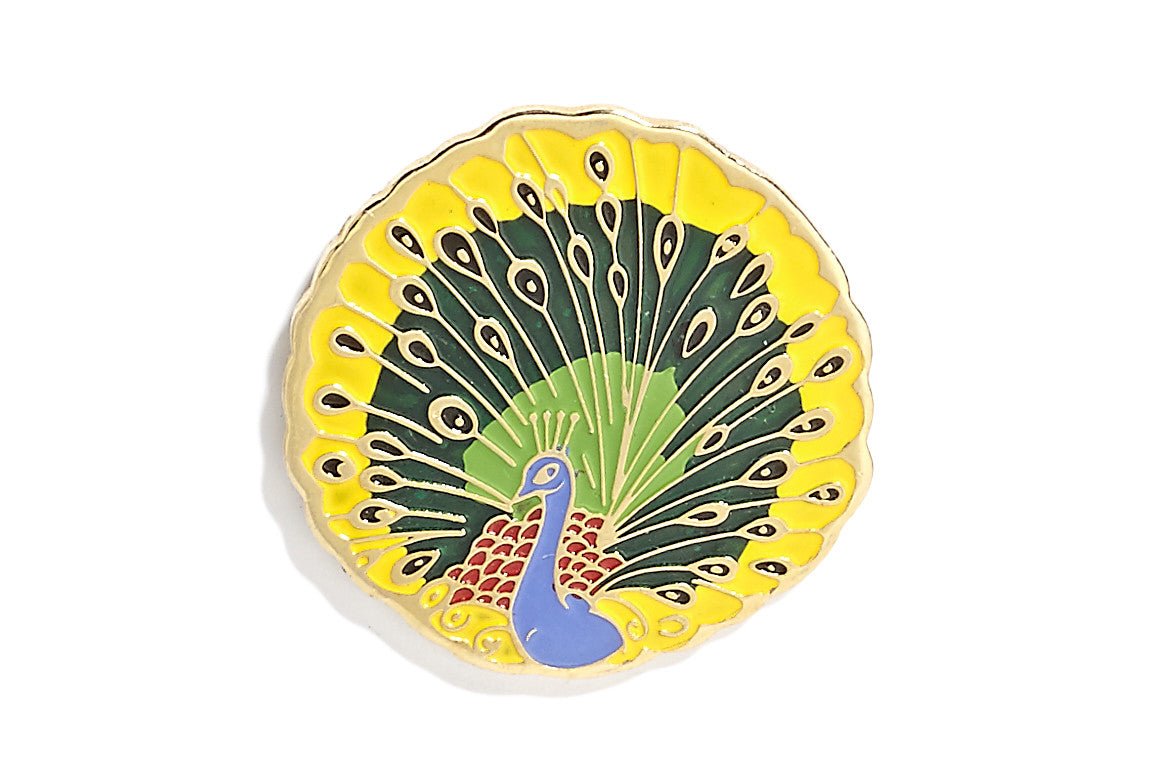 Vintage Peacock Pin