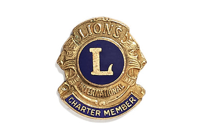Vintage Lions Charter Pin