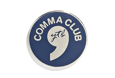 Vintage Comma Pin