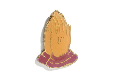Vintage Pray Hands Pin