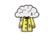 Rainy Day Jacket Pin