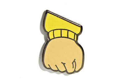 Angry Fist Pin