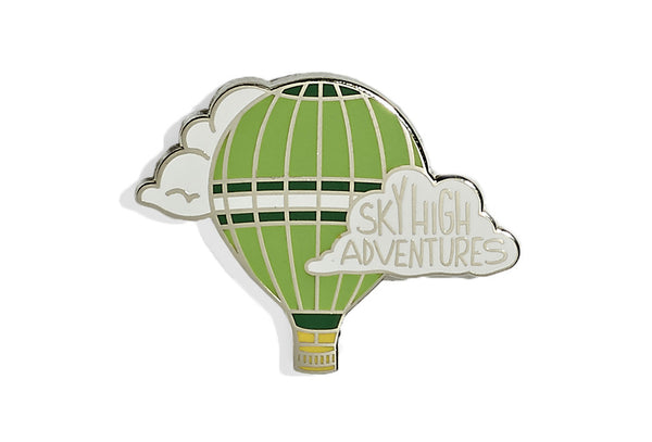 Sky High Balloon Pin