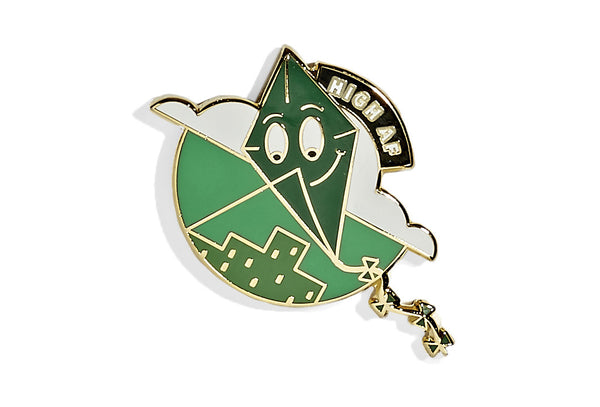 High AF Kite Pin
