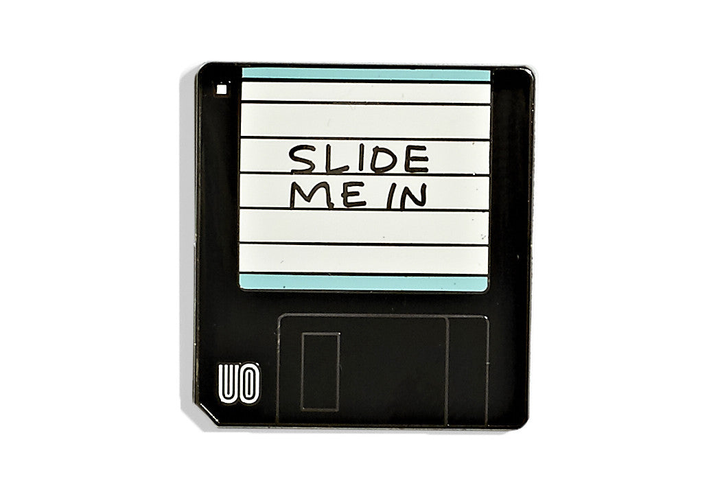 Slide Me In Disk Pin