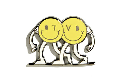 Terrific Values - Friends Pin in Yellow