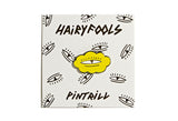 Hairy Fools - Eye Pin in Yellow