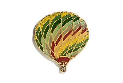Vintage Hot Air Ballon Pin