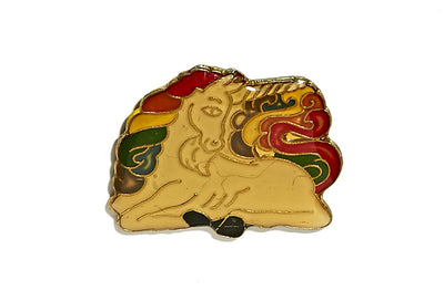 Vintage Unicorn Pin 2