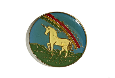 Vintage Unicorn Pin 4