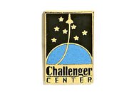 Vintage Challenger Center Pin
