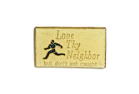 Vintage Neighbor Pin