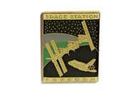 Vintage Space Station Pin