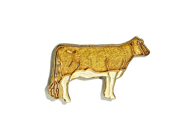 Vintage Cow Pin