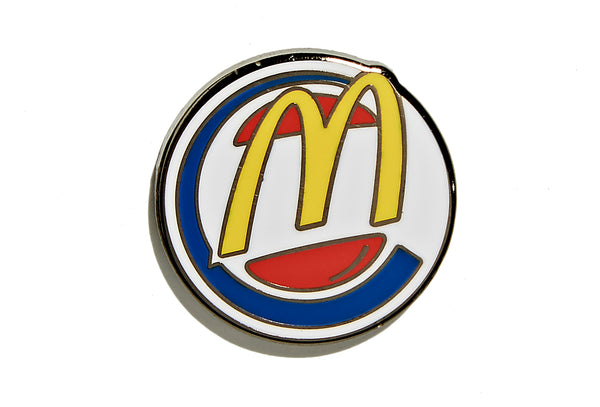 Double Burger Pin