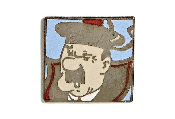 Vintage Scottish Man Pin