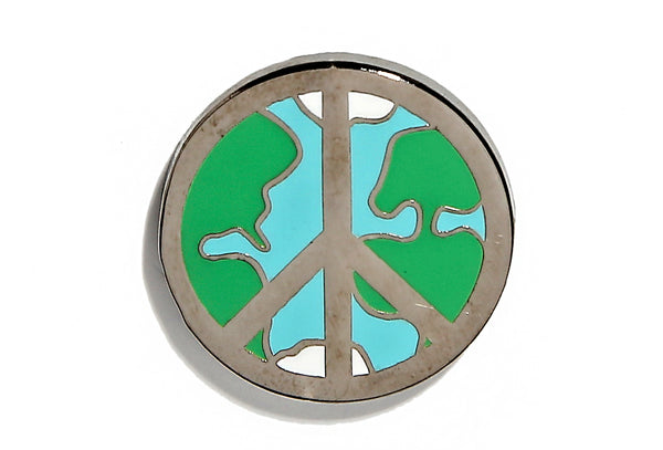 Peace On Earth Pin