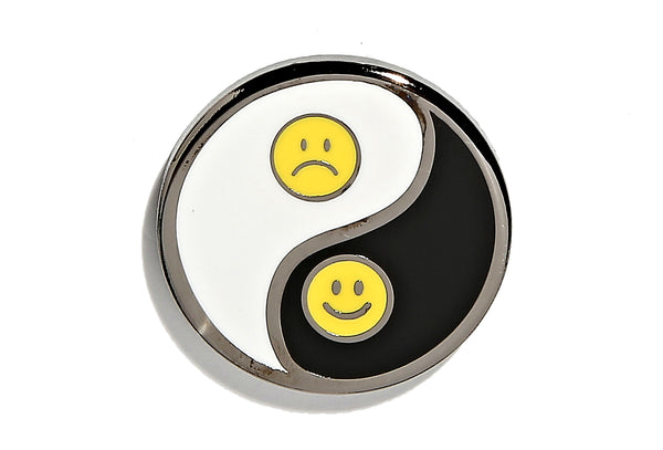 Ups & Downs Yin Yang Pin
