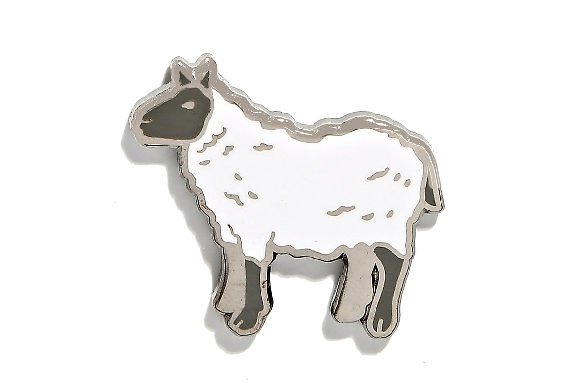 Year Of the Sheep Pin