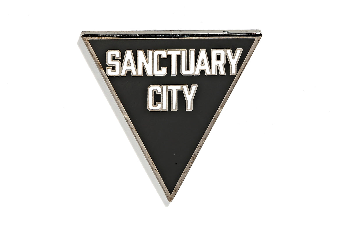 Robert Geller - Sanctuary City Pin