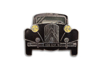 Vintage Black 406 Car Pin